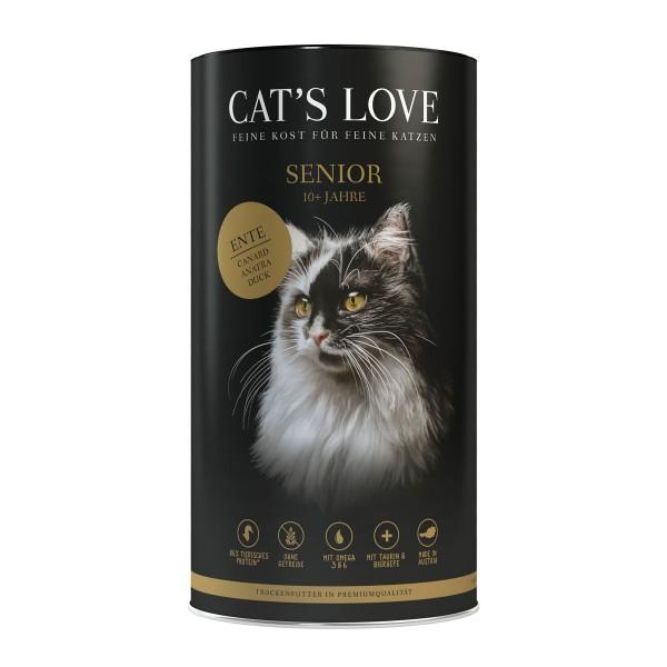 Cat's Love Senior Ente 1kg