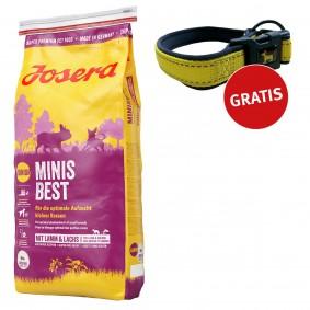 Josera Hundefutter MinisBest 4kg + Reflektionshalsband GRATIS