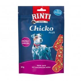 Rinti Hundesnack Chicko Plus Ente & Müsli 80g