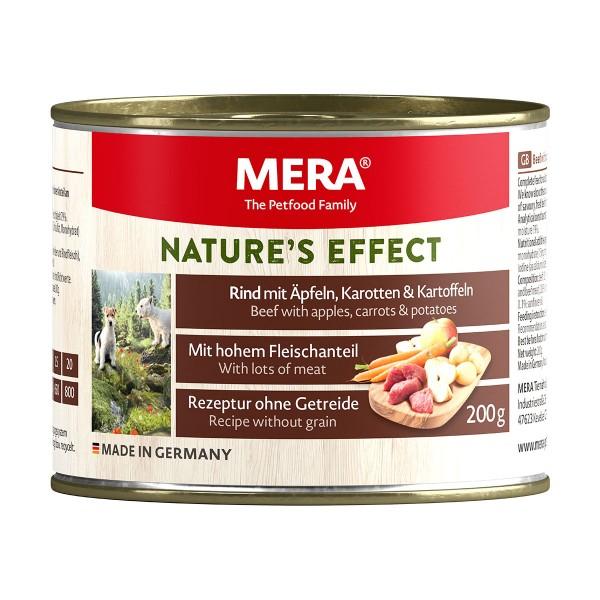 MERA Nature's Effect Nassfutter Rind