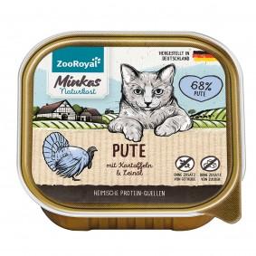 ZooRoyal Minkas Naturkost Adult Pute mit Kartoffeln & Leinöl