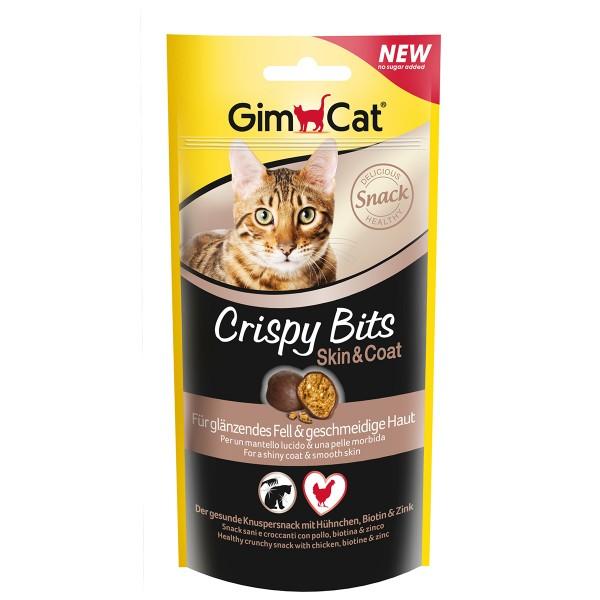 GimCat Katzensnacks Crispy Bits Skin & Coat 40g