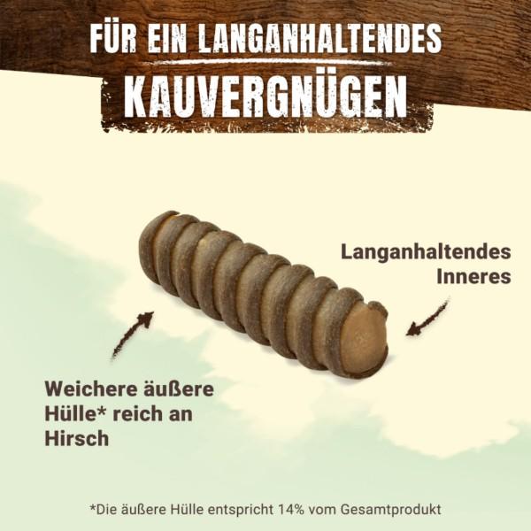 AdVENTuROS Wild Chew Hirsch für große Hunde