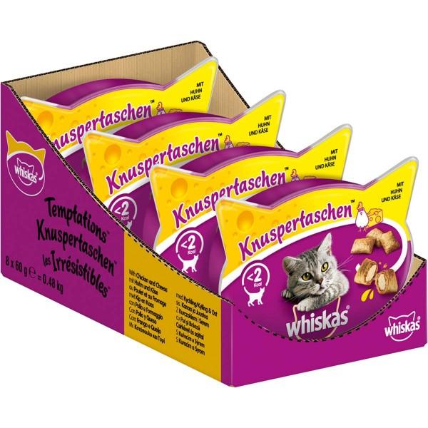 Whiskas Knuspertaschen mit Huhn und Käse