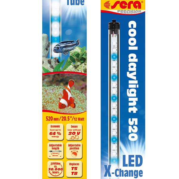 LED X-Change Tubes 520mm - cool daylight