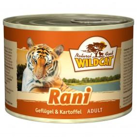 Wildcat Rani mit Geflügel und Kartoffel