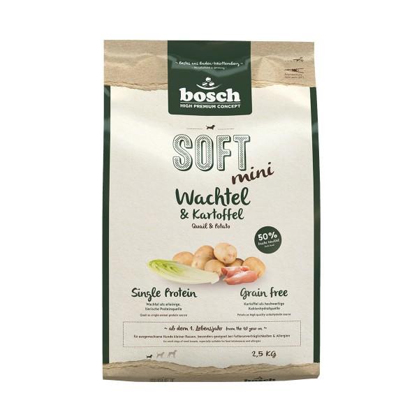 Bosch SOFT Mini Wachtel und Kartoffel