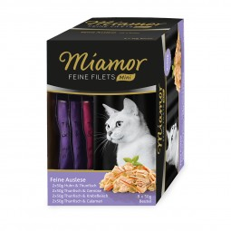 Miamor Feine Filets Mini Multibox Feine Auslese 8x50g