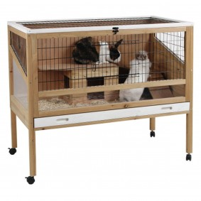 Kerbl Cage Indoor Deluxe pour petits animaux