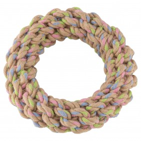 Beco Pets Hundespielzeug Hanf Ring  Ø 17 cm