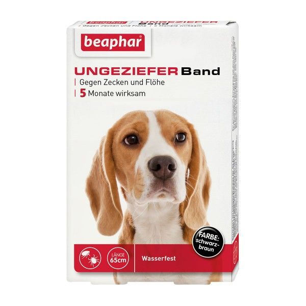 beaphar Anti Floh & Zecken Ungezieferband 65cm
