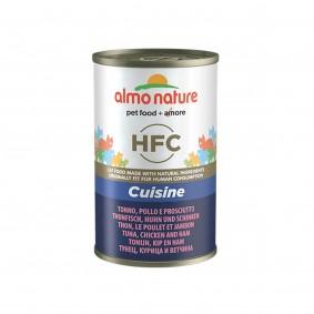 Almo Nature HFC Cuisine Cat Thunfisch, Huhn und Schinken