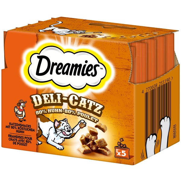 Dreamies Deli-Catz Huhn 5x5g