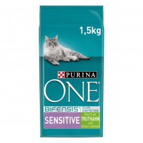 PURINA ONE BIFENSIS SENSITIVE Katzenfutter trocken Truthahn