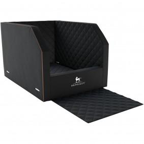 Knuffelwuff Auto Hunde Sitzschutz Cargo für den Rücksitz schwarz 60 x 50 x 50 cm