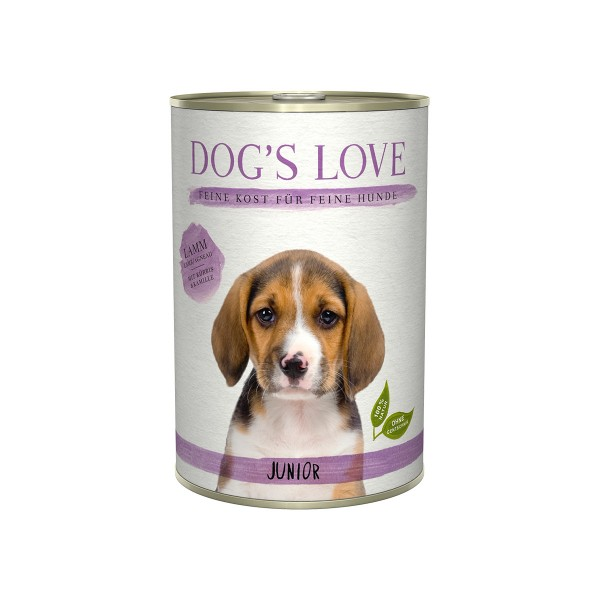Dog's Love Junior Lamm mit Spinat und Kamille