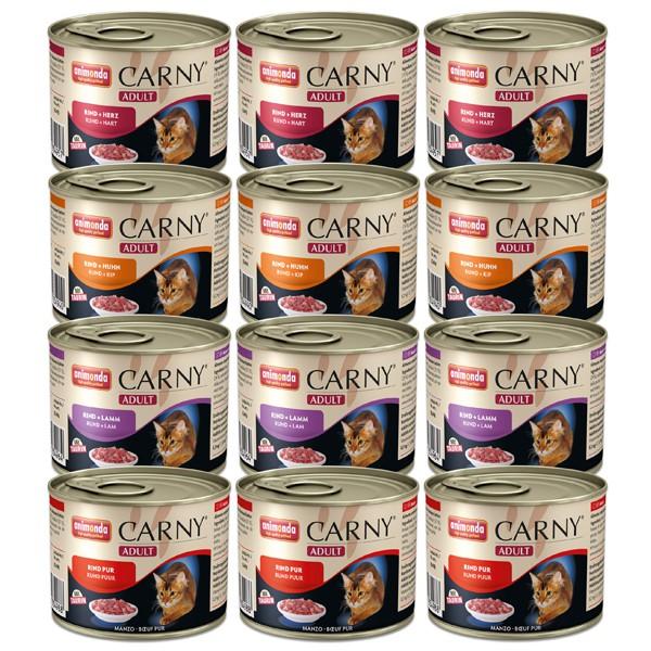 Animonda Katzenfutter Carny Adult Mixpaket 1 12x200g