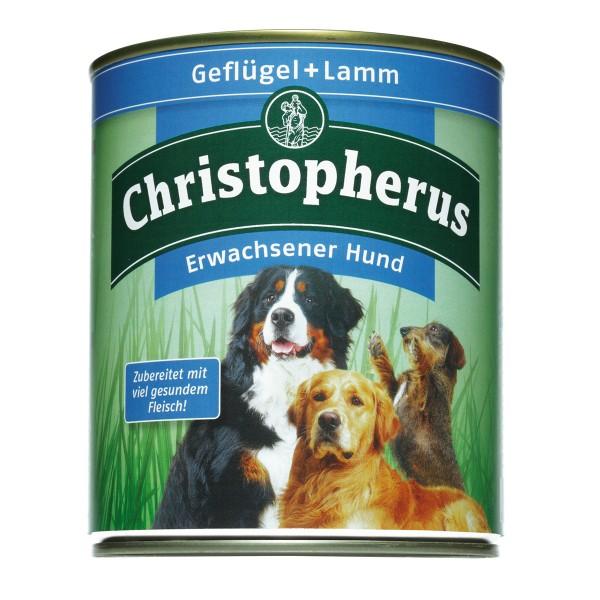 Christopherus Hundefutter: Geflügel & Lamm - 6x...