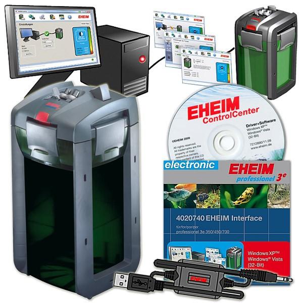 Außenfilter professionel 3e 2078 + USB-Aquarium Interface