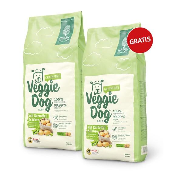 Green Petfood VeggieDog grainfree 2kg+2kg gratis