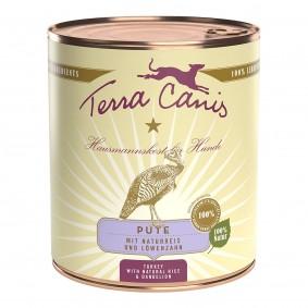 Terra Canis CLASSIC – Pute mit Naturreis und Löwenzahn