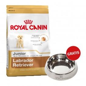 Royal Canin Labrador Retriever Junior 12kg + Edelstahlnapf silber gratis
