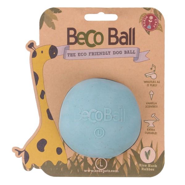 Beco Pets Hundeball Beco Ball Blau - L