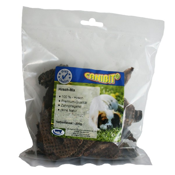 Canibit Hundesnack Hirsch-Mix 200g