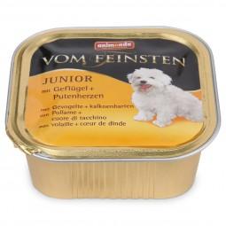 Animonda Hundefutter Vom Feinsten Junior Geflügel und Putenherzen