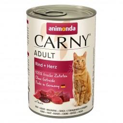 Animonda Katzenfutter Carny Adult Rind und Herz