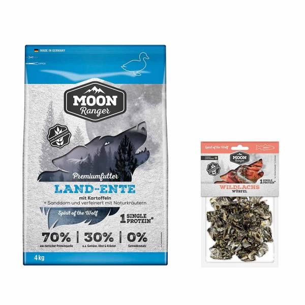 Moon Ranger mit Land-Ente 4kg + Wildlachswürfel gratis
