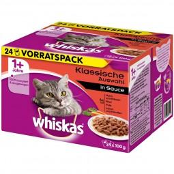 Whiskas Adult 1+ Klassische Auswahl in Sauce