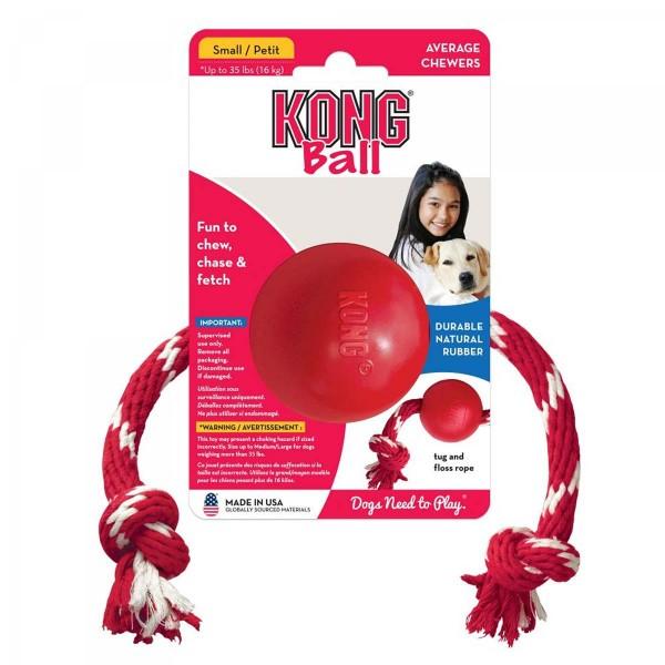 KONG Ball mit Seil S