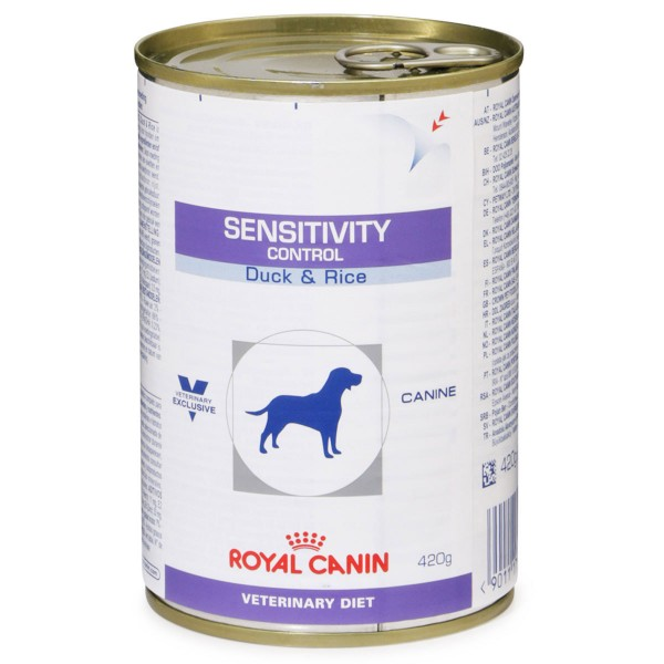Royal Canin Vet Diet Nassfutter Sensitivity Control Duck