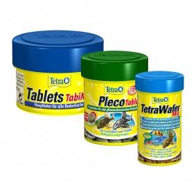 Tetra Probierpaket Pleco Tablets + TabiMin + Wafer Mix