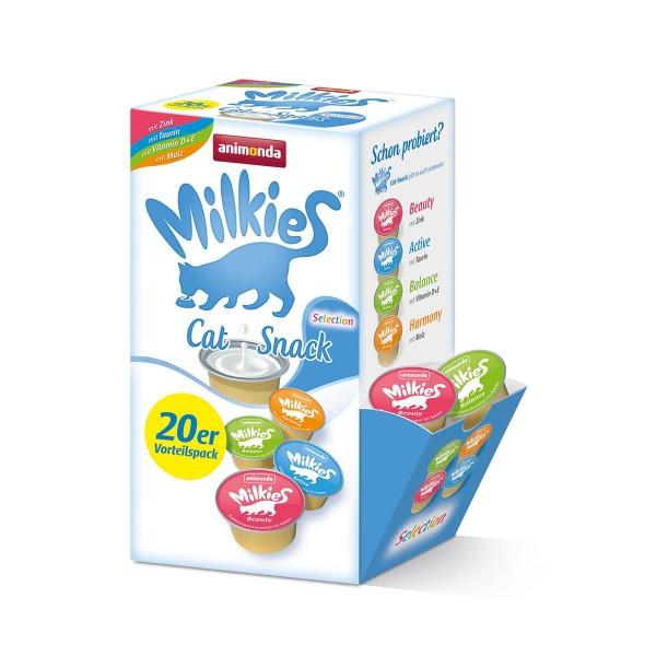 Animonda Katzensnack Milkies Selection Cups