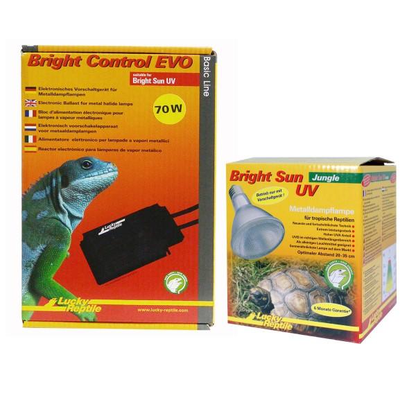 Lucky Reptile Bright Sun + Bright Control EVO Jungle 70 Watt