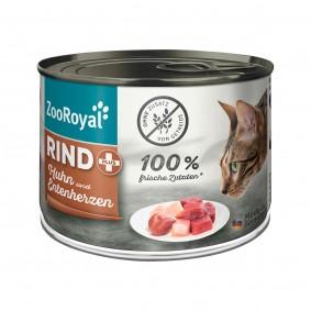 ZooRoyal Rind + Huhn & Entenherzen 200g