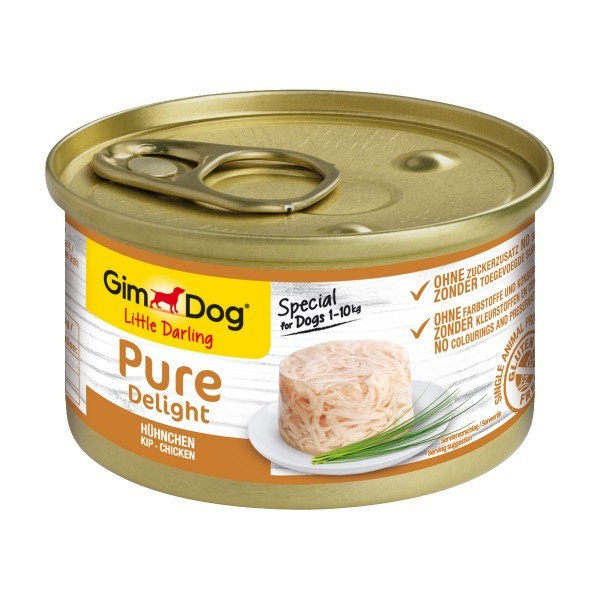 GimDog Little Darling Pure Delight Hühnchen