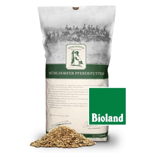 Mühldorfer Bio-Pferdefutter Bio-Mash und Kräuter 15kg