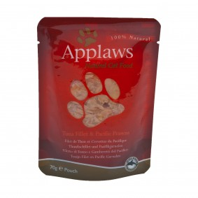 Applaws Cat PB Thunfischfilets und Pacific Garnelen