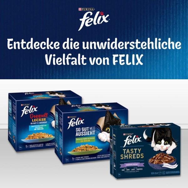 FELIX So gut wie es aussieht in Gelee Senior Gemischte Vielfalt 120x85g