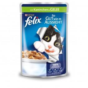 Felix So gut wie es aussieht mit Kaninchen 40x100g