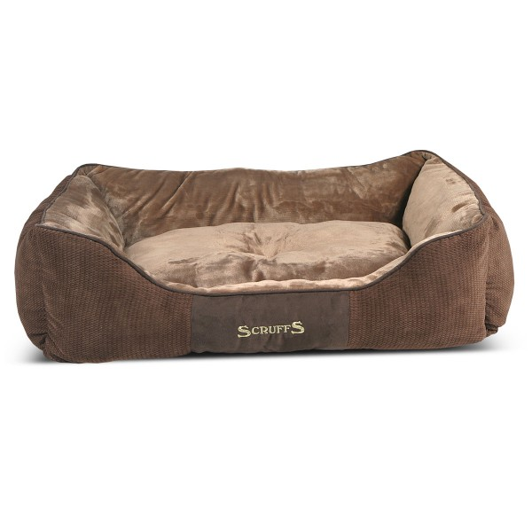 Scruffs Hundebett Chester Box Bed Braun