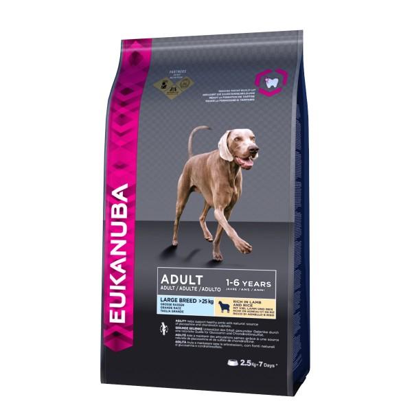 Eukanuba Hundefutter Erwachsene Große Rassen Lamm & Reis