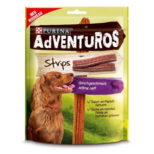 AdVENTuROS Hundesnack Strips 90g