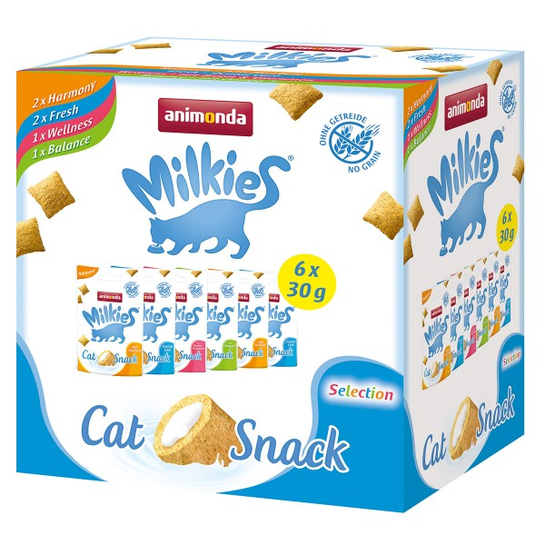Animonda Milkies Multipack 6x30g