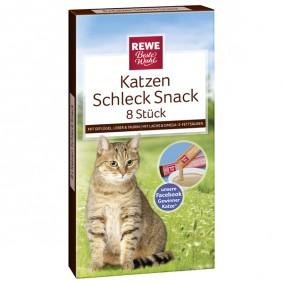 REWE Beste Wahl Flüssige Katzensnacks verschiedene Sorten