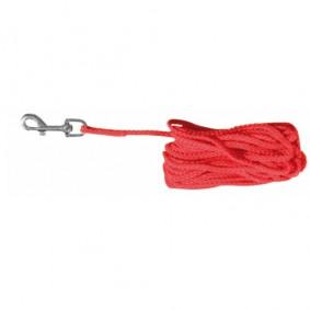 Trixie Laisse en nylon rouge