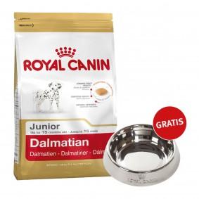 Royal Canin Dalmatian Junior 12kg + Edelstahlnapf silber gratis